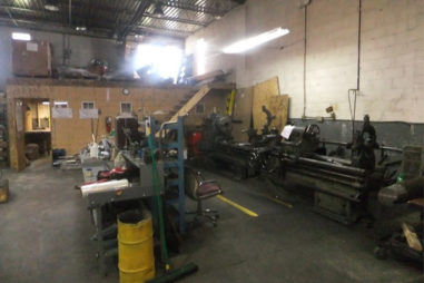 Commercial Machine Shop